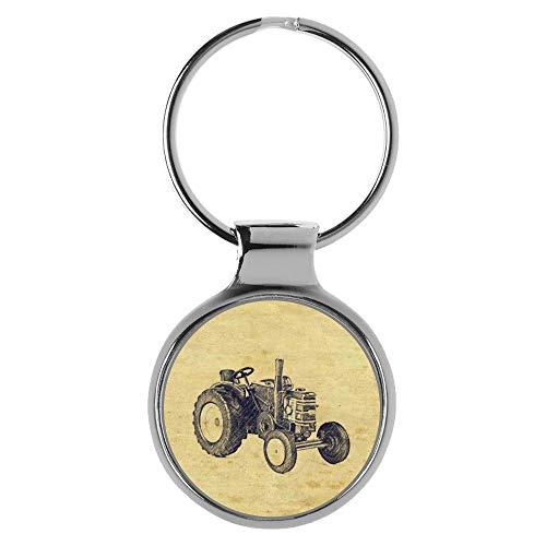 KIESENBERG Schlüsselanhänger Geschenke für Field Marshall Traktor Fan A-20483