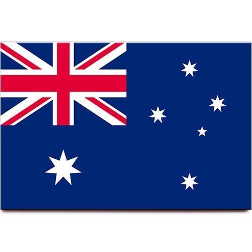 Kühlschrankmagnet mit Australien-Flagge, Sydney Melbourne Canberra, Reise-Souvenir