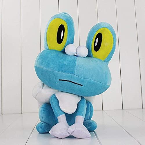 plysch leksaker, super mjuk plysch leksaker, animering plysch leksak docka barns gåva, 3 år gamla pojke leksaker 18 cm blå