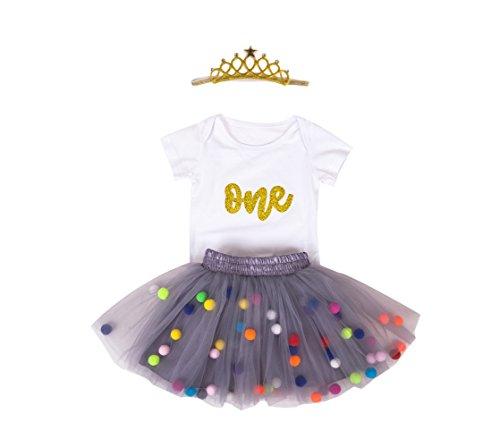 Marlegard Vestido - globo - para bebé niña