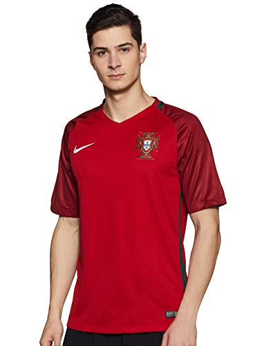 Nike Portugal Stadium Euro 2016 Trikot, Fan, Herren, Sport, rot/tief XL Gym Red/Deep Garnet/White