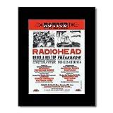 Music Ad World Radiohead - UK Tour 2000 Mini-Poster, matt,