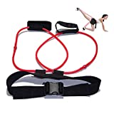 Openuye Booty Resistance Belt Bands Resistance Exercise Band with Adjustable Waist Belt Leg Workout Equipment Exercise for Legs,Butt,Glutes