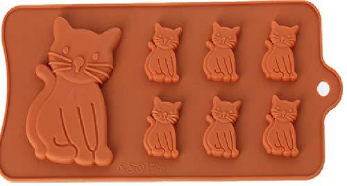 Moule à gâteaux en silicone - chats