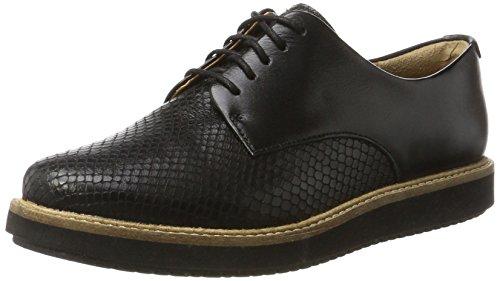 Clarks Glick Darby, Zapatos de Vestir para Mujer, Negro (Black), 39.5 EU