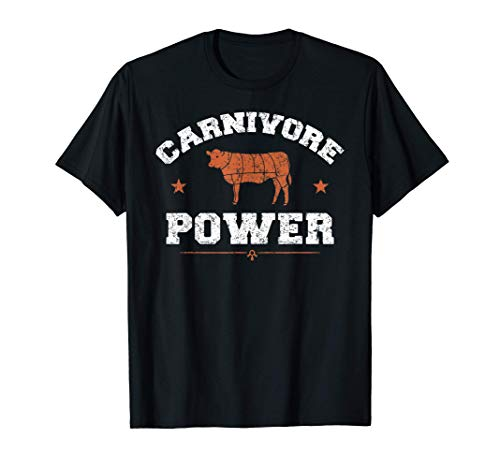 Carnivore | Funny Cow Meat Cuts BBQ Beef Lover T-Shirt