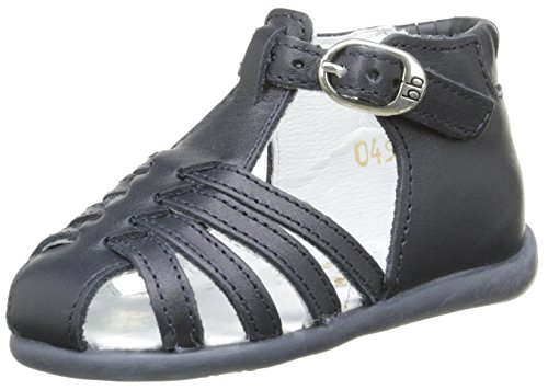 babybotte Guppy2, Chaussures Marche bébé Fille, Bleu (049 Marine), 21