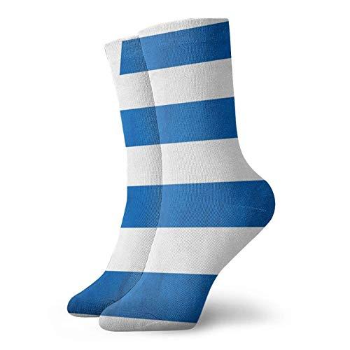Sunny R Bandera uruguaya Hombres Mujeres Trabajo para todas las estaciones Botas cortas Calcetines de equipo Calcetines cortos de equipo Calcetines de trabajo de equipo para hombres y mujeres