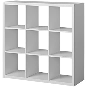Ikea' storage shelf, White