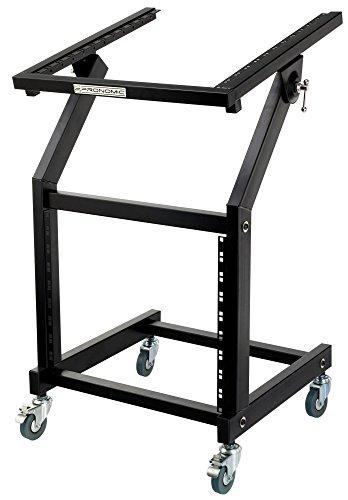 Pronomic MXS-600 mobiler Rack Wagen mit 21 Höheneinheiten und Rollen (Maschinenwagen für 19