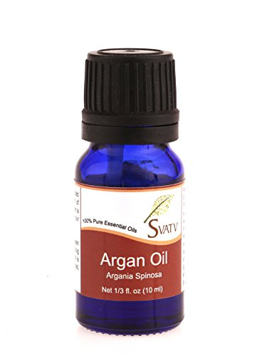 SVATV Argan (Argania Spinosa) Ätherisches Öl 10 ml (1/3 oz) 100{79fe3847e61d9a68aed3223b40157bf5553e9e5ef127024f2c27cd6cbba2fad1} rein, unverdünnt, therapeutisch