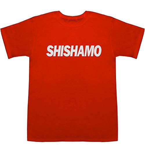 SHISHAMO シシャモ 柳葉魚 T-shirts レッド S【チケット e+ 】【宮崎朝子 絵】