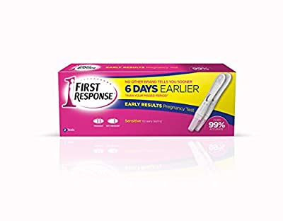 FIRST RESPONSE Early Result Pregnancy Test, Pack of 2