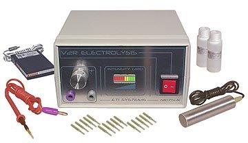 V2RG Galvanisch Elektrolyse Epilierer für dauerhafte Haarentfernung.
