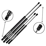 Maxpow 2 Tailgate and 2 Rear Window Glass Lift Supports Struts Compatible With Suburban Tahoe/GMC Yukon 2000 2001 2002 2003 2004 2005 2006 4185 4557