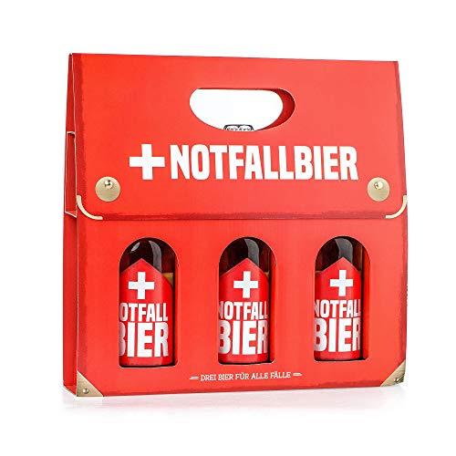 Monsterzeug Bierkoffer für den Notfall, Notfallbier für Männer, Männerhandtasche Bierträger, Biergeschenk für Ihn