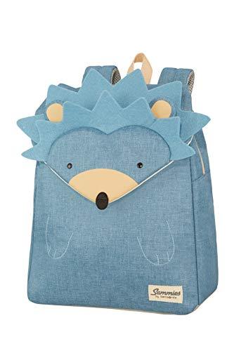 Samsonite Happy Sammies - Sac à Dos Enfant S+, 34 cm, 11 L, Bleu (Hedgehog Harris)