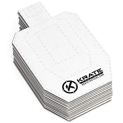 KRATE Tactical Cardboard Targets-Half Size USPSA Paper...