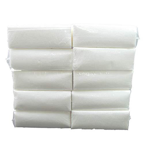 Keukenpapier Roll Paper, One Time papieren handdoekjes Keuken Paperoil En Water Absorption Ecologische Lazy Rags en papieren handdoekjes (10 Pack)