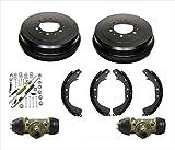 6 Lug Drums & Shoes Spring Wheel Cylinder For 4 Runner 86-2000 4 wheel Drive