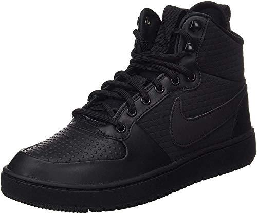 Nike Herren Court Borough Mid Winter Fitnessschuhe, Schwarz (Black/Black 002), 41 EU