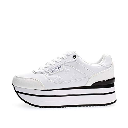 FL5HNSPEL12 WHITE GUESS GUESS FOOTWEAR MAIN Sneakers Donna 37