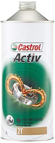 カストロール エンジンオイル Activ 2T 1L 二輪車2サイクルエンジン用部分合成油 FC Castrol