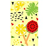 Sticker Superb Bohemia Indio Rectangular Toalla de Baño Textil para el hogar Adulto 160cm x 80cm Toalla de Playa Albornoz Camping Sport Colchoneta de Yoga Niños Manta (Piruleta,Impresión a Una Cara)