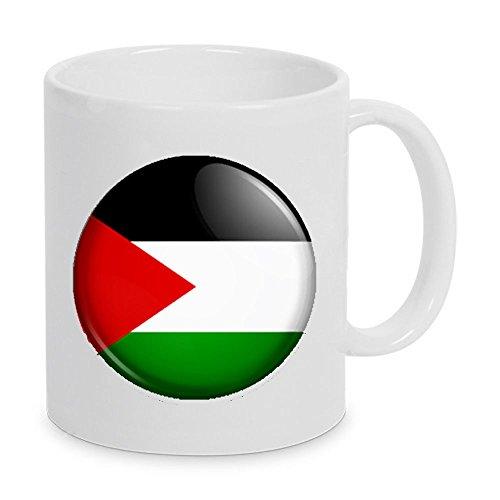 Unbekannt Tasse Nationalflagge DURAGLAZE Kaffeebecher (Palästina)