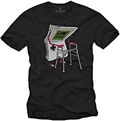 Camiseta Divertida Hombre - Game Over - Reglos Frikis