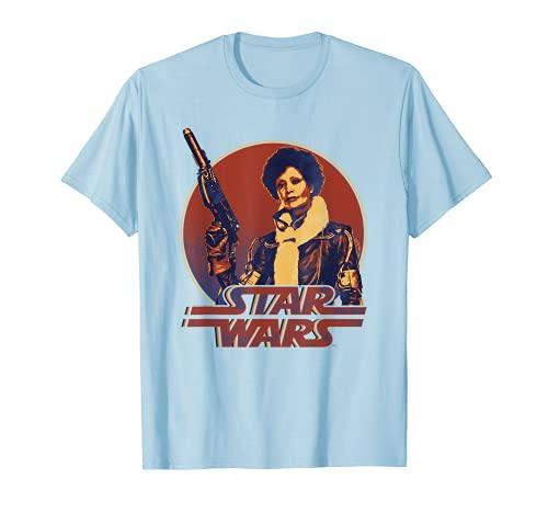 Stars Wars Han Solo Movie Val Retro Circle Camiseta