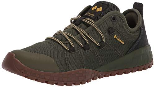Columbia Men's Fairbanks Low Sneaker, Nori/Golden Nugget, 10.5