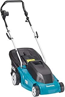 Makita Electric Lawn Mower 1300 Watts, Black And Blue [elm3710]