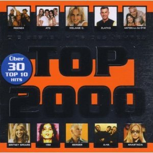 (CD Compilation, 40 Tracks, Various, Diverse Artists, Künstler) ATC - Around The World (La La La La La) / Melanie C - I Turn To You / Modern Talking Feat. Eric Singleton - China In Her Eyes / Backstreet Boys - Show Me The Meaning Of Being Lonely / Britney Spears - Lucky u.a.
