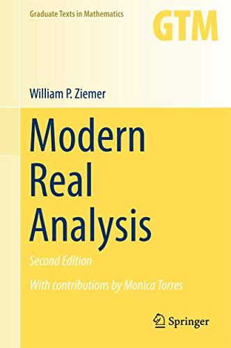 Modern Real Analysis (Graduate Texts in Mathematics (278), Band 278)