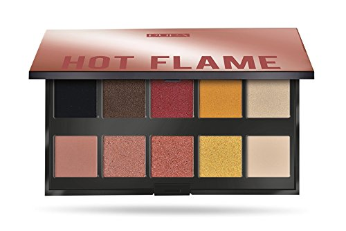 Pupa Make Up Stories Palette 10 Ombretti Hot Flame 002