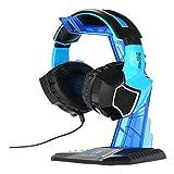 Suporte Onikuma Para Fone De Ouvido Headset Stand Azul