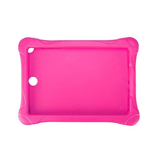 DyNamic Cuadrado De EVA Portátil De Protección Shell para 9,7 Pulgadas Samsung Tab A T550 - Rosa Roja