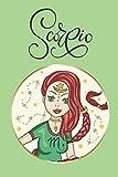 Scorpio: Horoscope Theme Journal Zodiac Simple Lined for Women Girls Teens Preteens