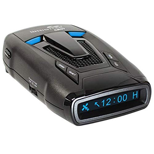 Whistler CR97 - Maximum Performance Radar Laser MultaRadar Detector/w GPS, Voice Alerts