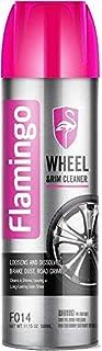 FLAMINGO WHEEL & RIM CLEANER, WHEEL GLOSS, WHEEL SHINE, F014, 500ML, منظف جنط, ملمع جنط