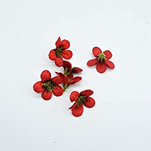 10Pcs Diy Scrapbooking Artificial Flowers For Decoration Wedding Home Christmas Wreath Silk Orchid European Fake Stamen Plants,Color 11