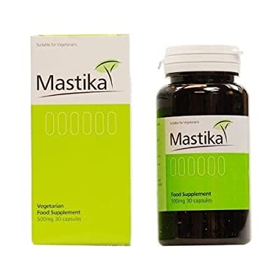 Mastika 500mg Mastic Gum - Pack of 30 Capsules