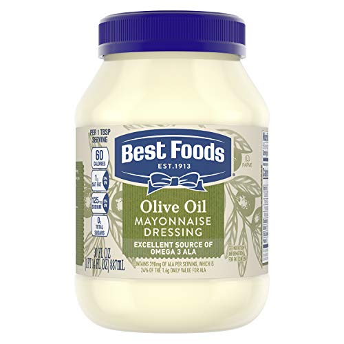 Best Foods Mayonnaise Dressing with Olive Oil 30 oz