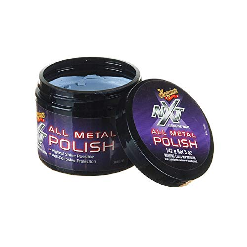 Meguiars NXT All Metal Polish for Car Alloy & Chrome Wheels **COMPLETE KIT**