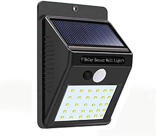 Lampara con sensor de movimiento 30 leds para exteriores (Pe