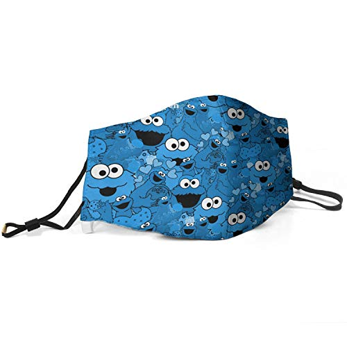WEEYT Anti Pollution Dust Mouth Printed Adult Face Cover Muffle with Adjustable Earloop Face Headband for Kid