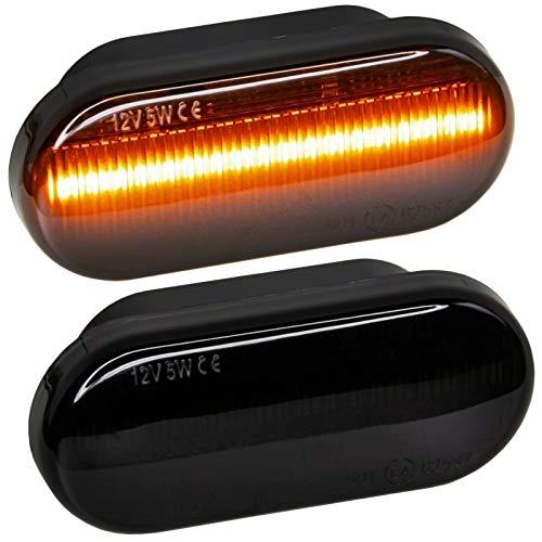 phil trade LED SEITENBLINKER schwarz kompatibel für Bora, Golf 3, Golf 4, Lupo, Vento, Fox