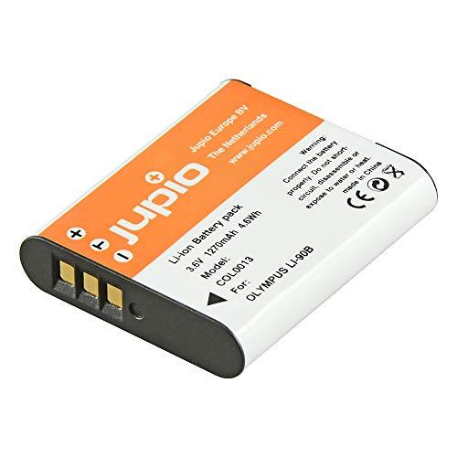 Jupio COL0013 - Batería para cámara de Fotos Equivalente a Olympus Li-90B/Li-92B (Lithium Ion, 1270 mAh)