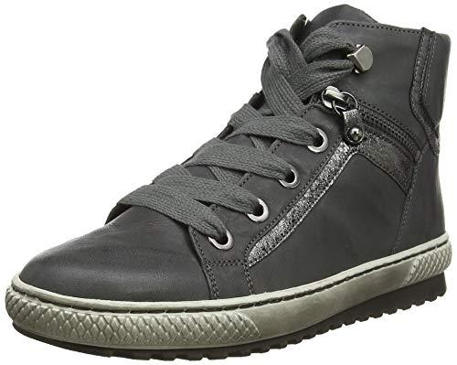 Gabor Shoes Damen Jollys Stiefeletten, Grau (Dark Grey/Fucile 59), 41 EU